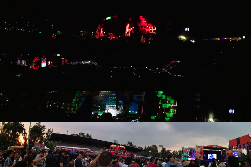 Collage de fotos panorámicas del VL 2019